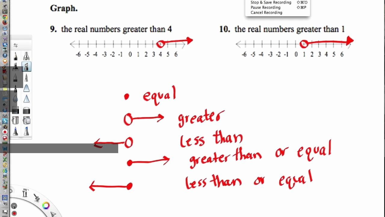 Ordering Real Numbers Worksheet Fresh Real Number Line Worksheet