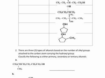 Organic Chemistry Worksheet with Answers Best Of organic Chemistry Worksheets with Answers by Kunletosin246