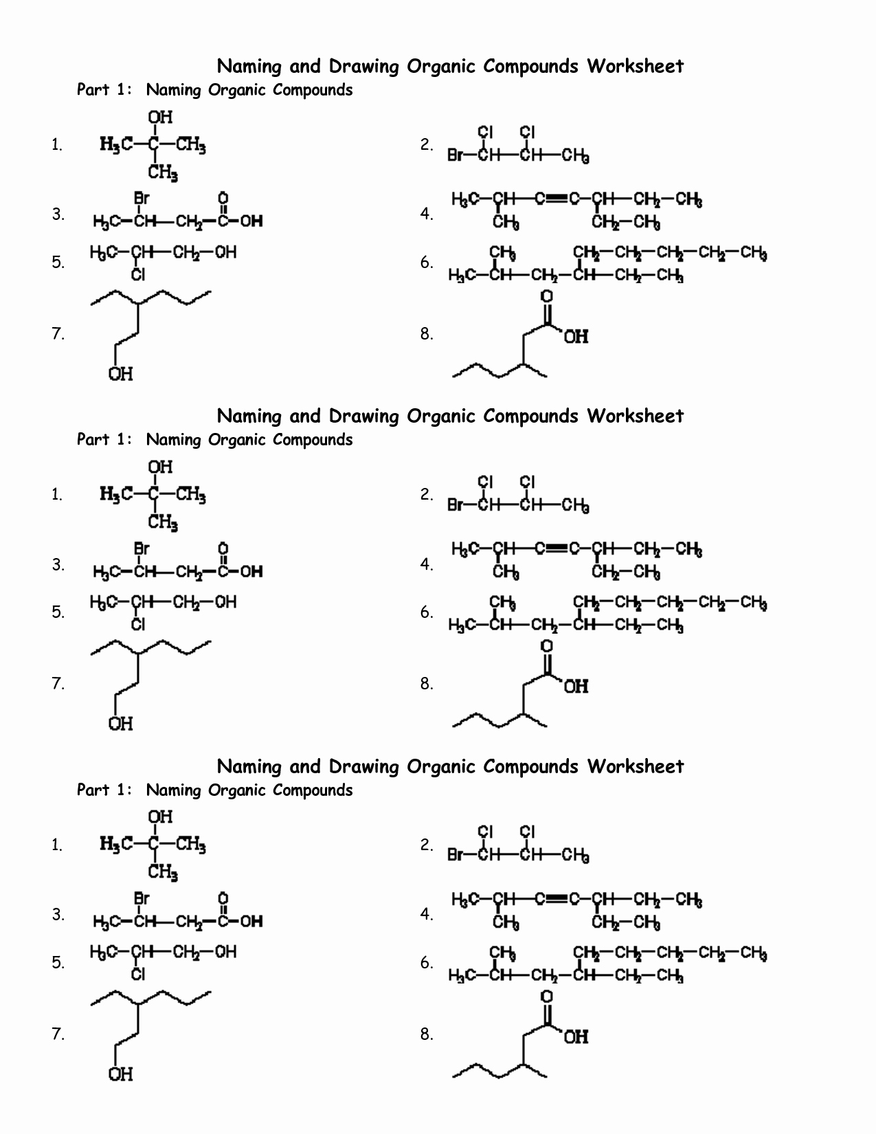 Organic Molecules Worksheet Answer Key Best Of Mixed Ionic Covalent Pound Naming Answer Key