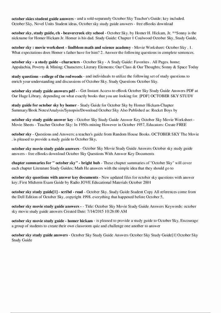 Osmosis Jones Movie Worksheet Fresh Osmosis Jones Worksheet