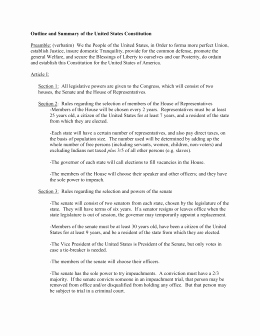 Outline Of the Constitution Worksheet Beautiful the Articles Of the Constitution Worksheets [answer Key]
