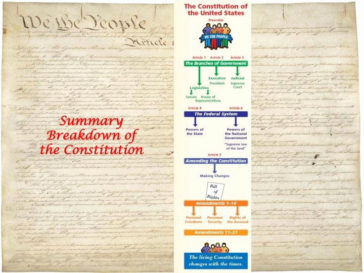 Outline Of the Constitution Worksheet Inspirational Ppt Constitution Overview Powerpoint Presentation Id