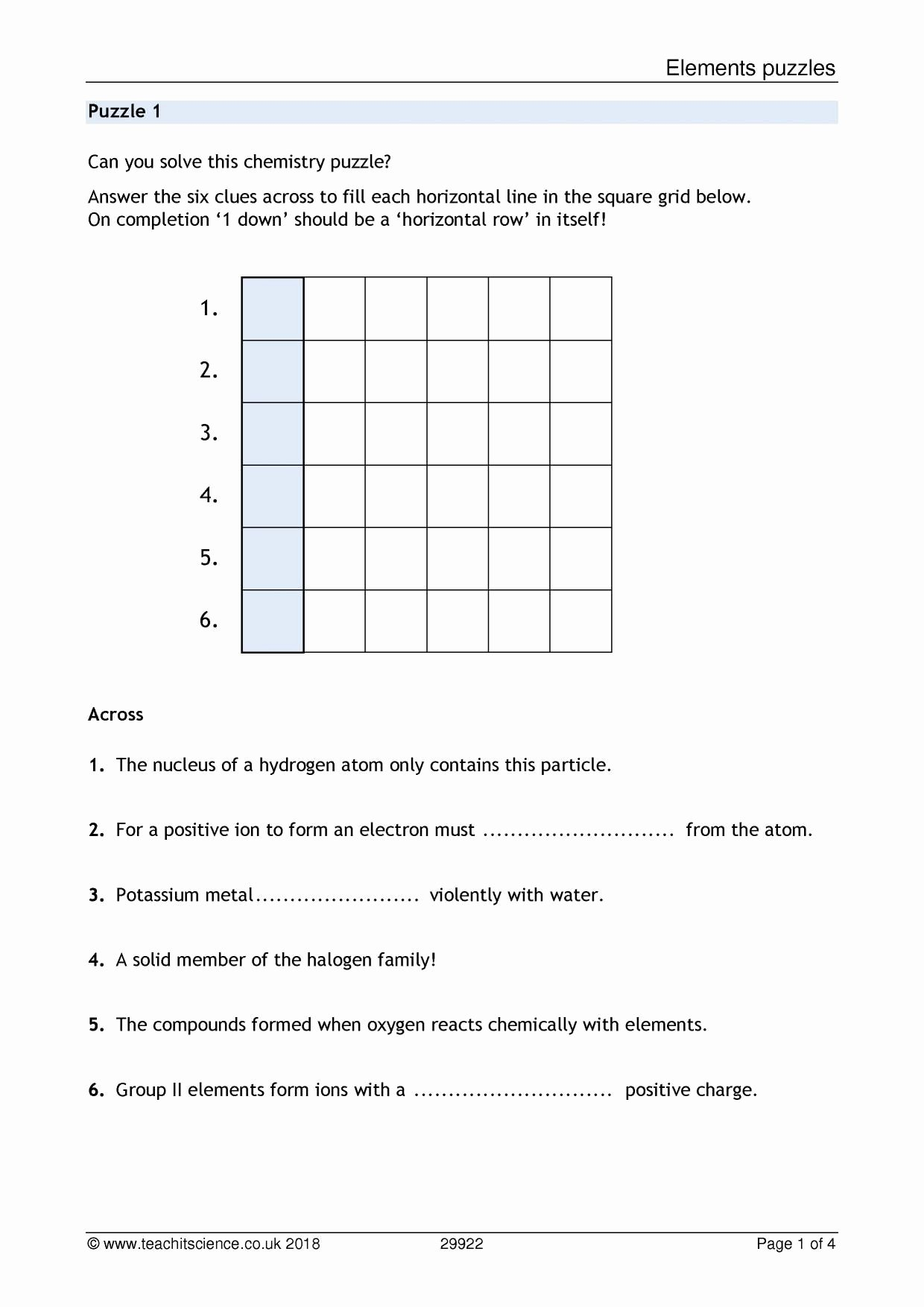 Overview Chemical Bonds Worksheet Answers Elegant Elements Pounds and Mixtures 1 Worksheet Answers