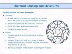 Overview Chemical Bonds Worksheet Answers Luxury Chemical Bonding and Structures [worksheet] by