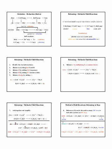 Oxidation and Reduction Worksheet Awesome Chapter 20 Worksheet Redox