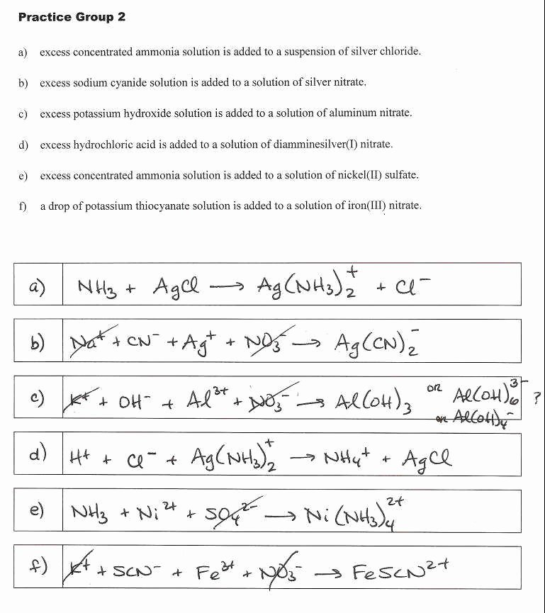 Oxidation and Reduction Worksheet New Oxidation Reduction Worksheet