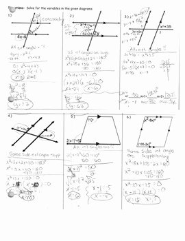 Pairs Of Angles Worksheet Answers Best Of 3 2 Parallel Lines and Angle Pairs Worksheet 2 by Tpt