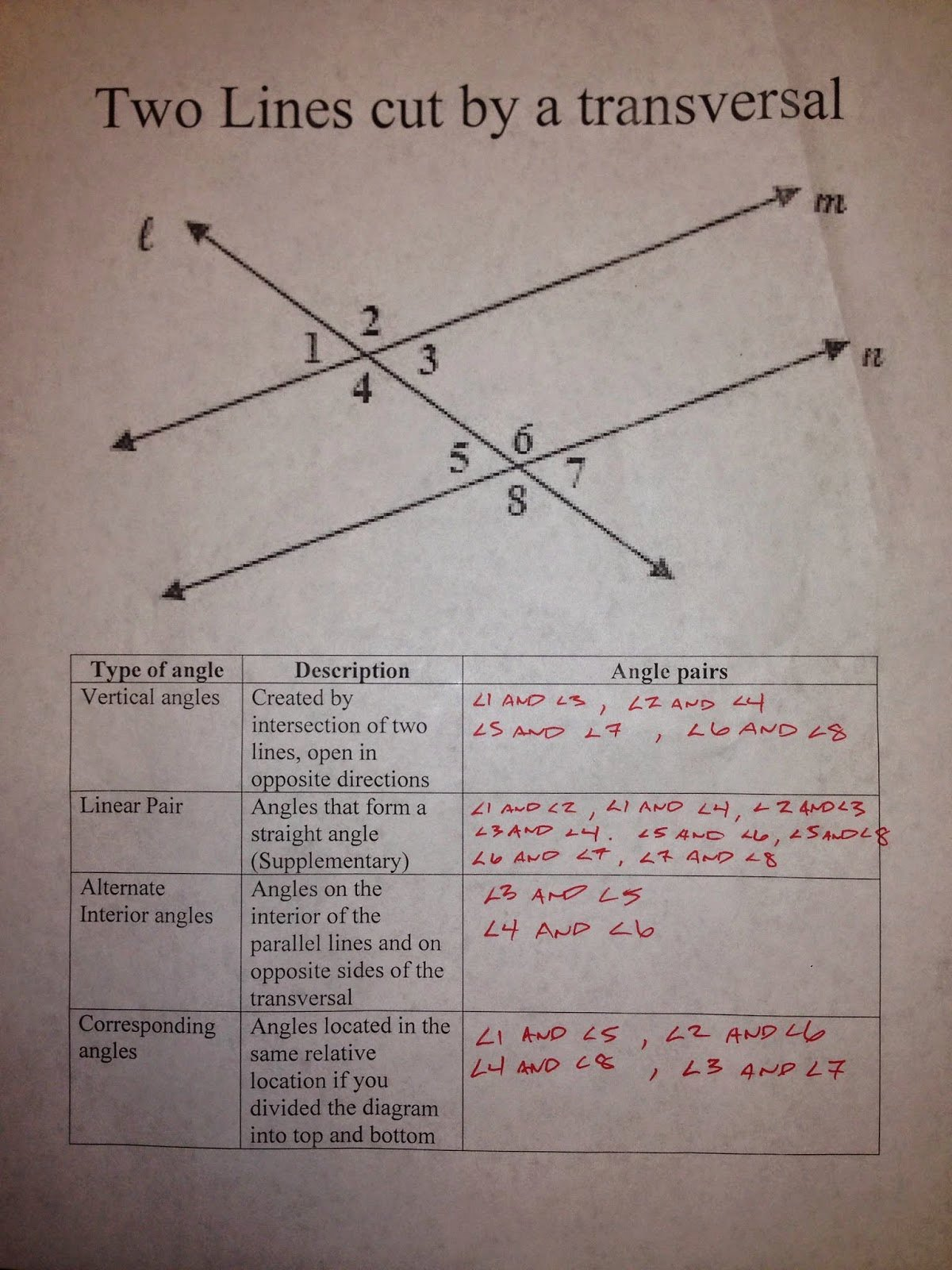 Parallel Lines Proofs Worksheet Answers Awesome Honors Geometry Vintage High School Section 3 1