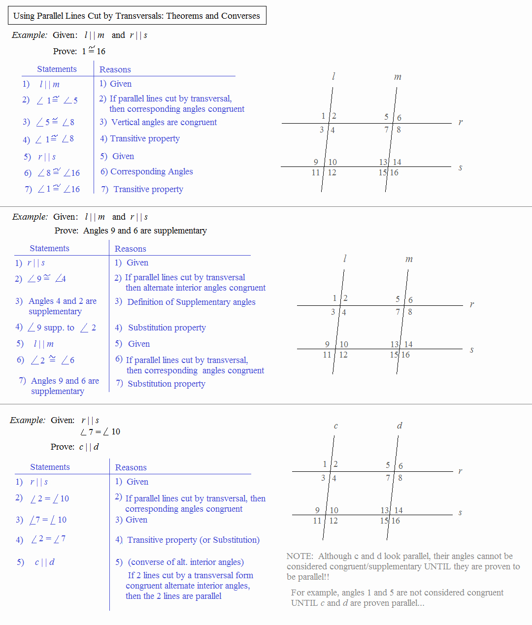 Parallel Lines Proofs Worksheet Answers Fresh Math Plane Parallel Lines Cut by Transversals