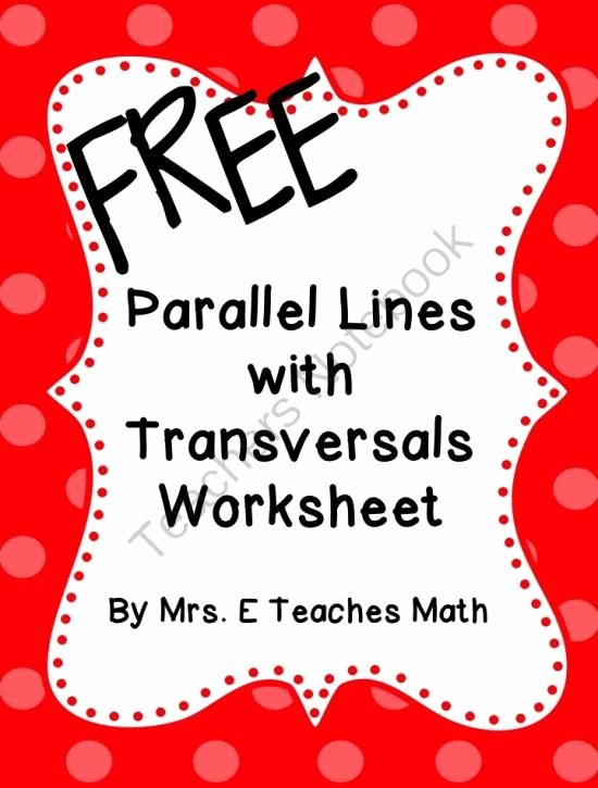 Parallel Lines Proofs Worksheet Answers Luxury 101 Best Images About Free 9th 12th Grade On Pinterest