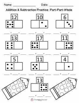 Part Part whole Worksheet Awesome Addition & Subtraction Worksheets Part Part whole