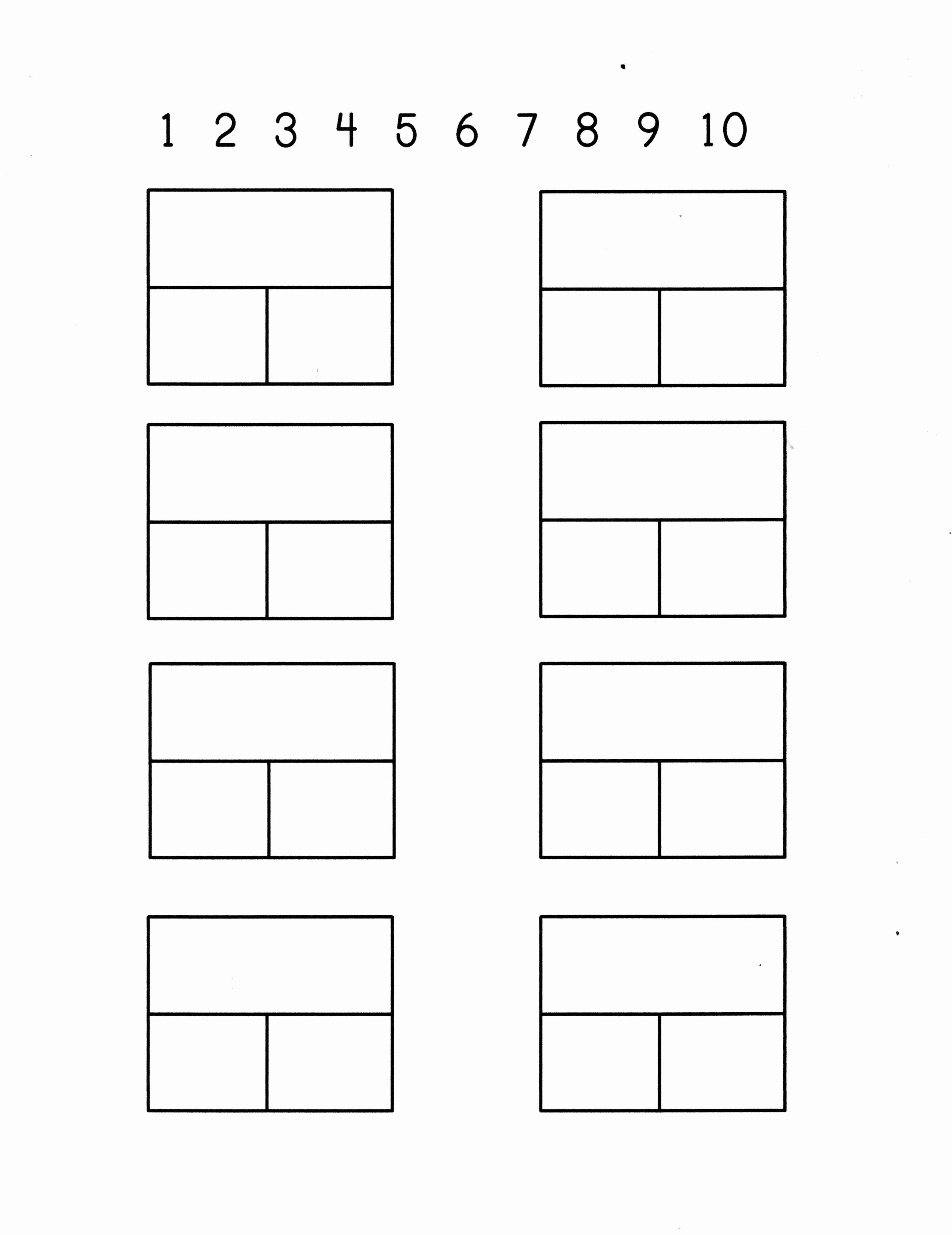Part Part whole Worksheet Awesome Part Part = whole Dominos Math Sheet Blank Number Line