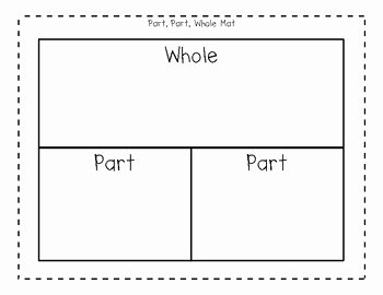 Part Part whole Worksheet Inspirational Part Part whole Mat for Addition and Subtraction by