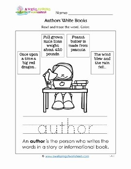 Parts Of A Book Worksheet Fresh Parts Of A Book Worksheets & Vocabulary Cards by A