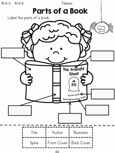 Parts Of A Book Worksheet Unique 1000 Images About Library Lessons On Pinterest