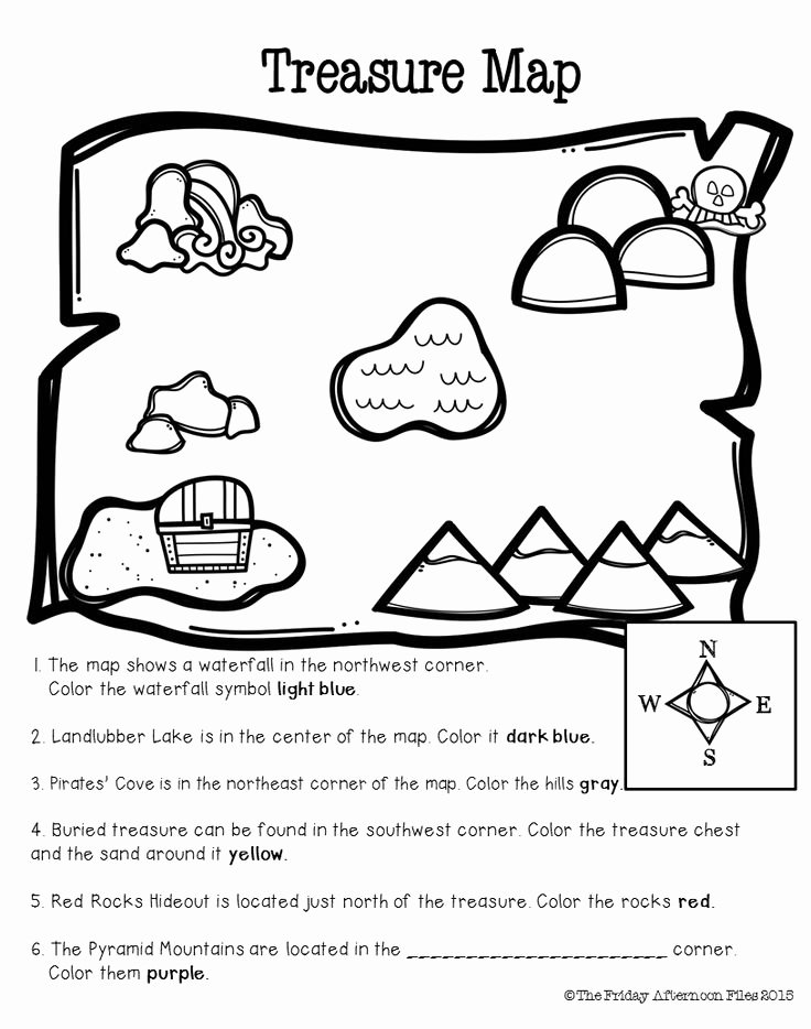 Parts Of A Map Worksheet Awesome 58 Parts A Map Worksheet social Stu S Skills Mr