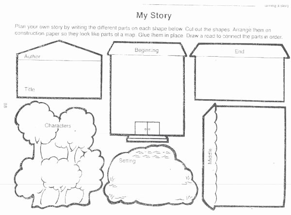 Parts Of A Map Worksheet Awesome My Story Worksheet