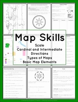 Parts Of A Map Worksheet Fresh Pinterest • the World's Catalog Of Ideas