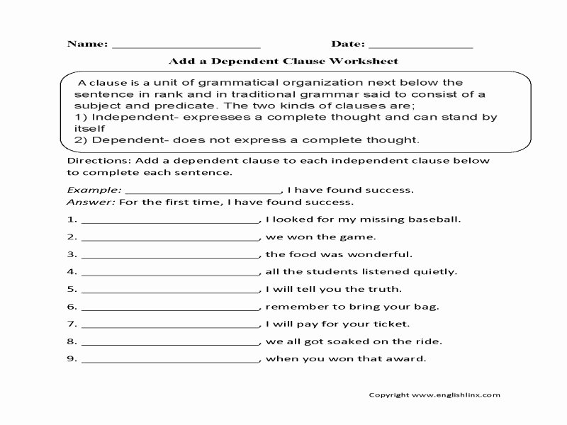 Parts Of A Sentence Worksheet Unique Parts A Sentence Worksheet Free Printable Worksheets