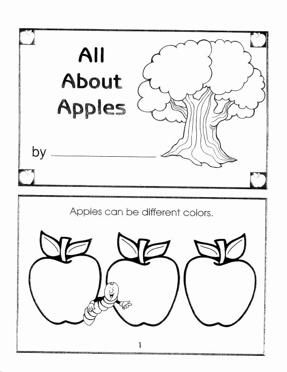 Parts Of An Apple Worksheet Elegant All About Apples Coloring Sheet Unschool