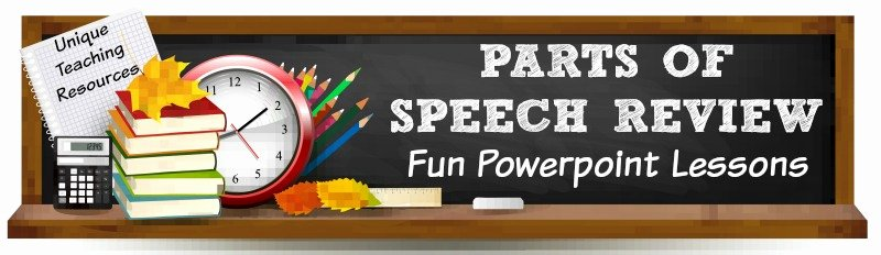 Parts Of Speech Review Worksheet Fresh Parts Of Speech Review Lessons Fun Activities to Review
