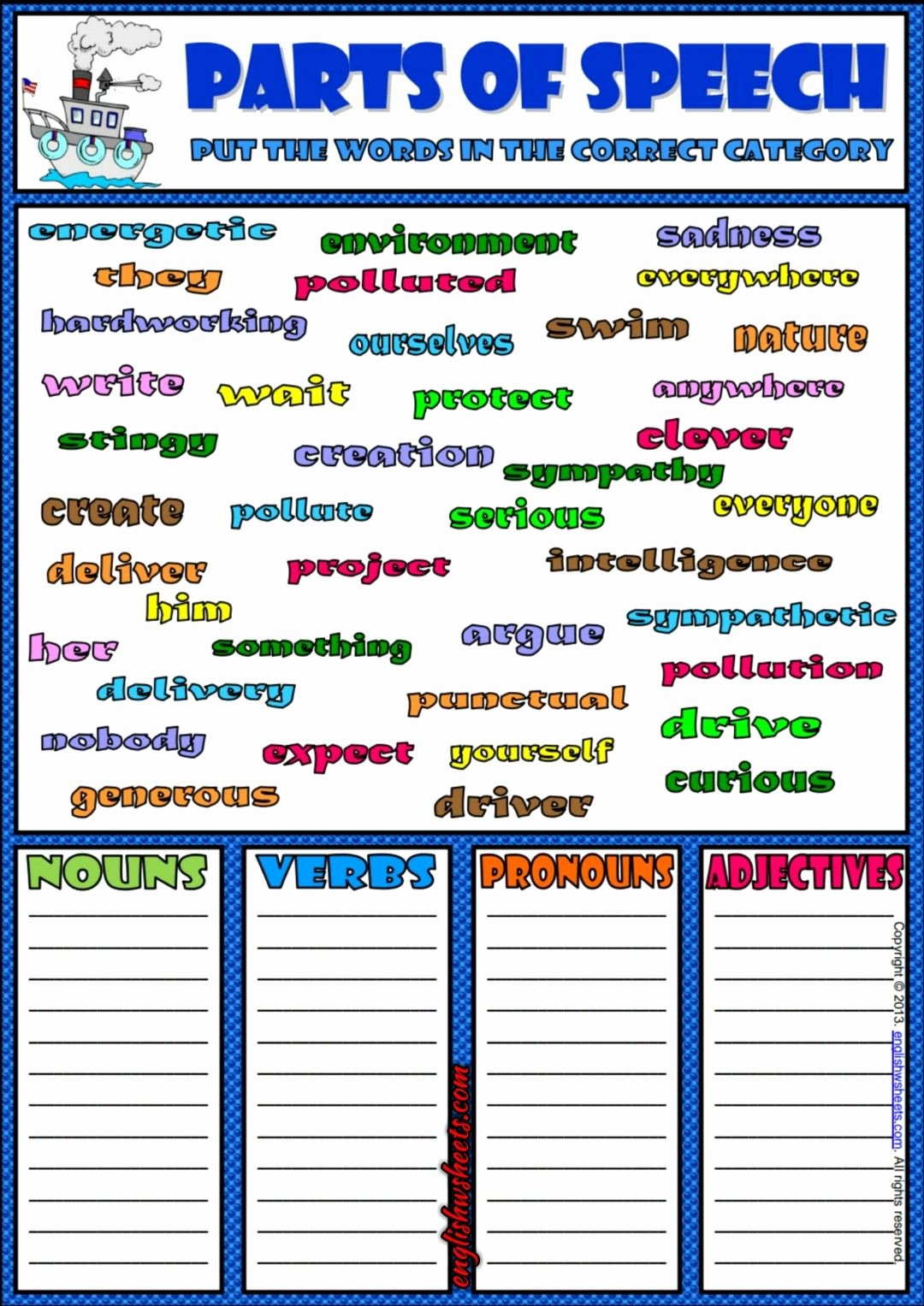 Parts Of Speech Worksheet Pdf Fresh Haus Und Mbel Worksheets Exercises Flashcards to Practice