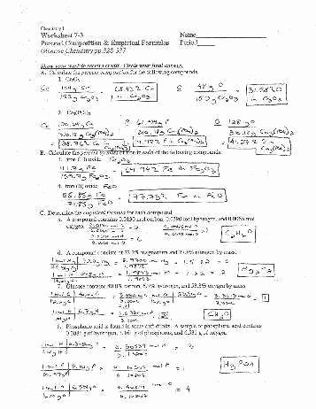 Percent Composition Worksheet Answers Inspirational Percent Position Worksheet Answers