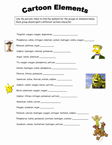 Periodic Table Activity Worksheet Luxury Periodic Table Lesson by Lindsayoliver34 Teaching