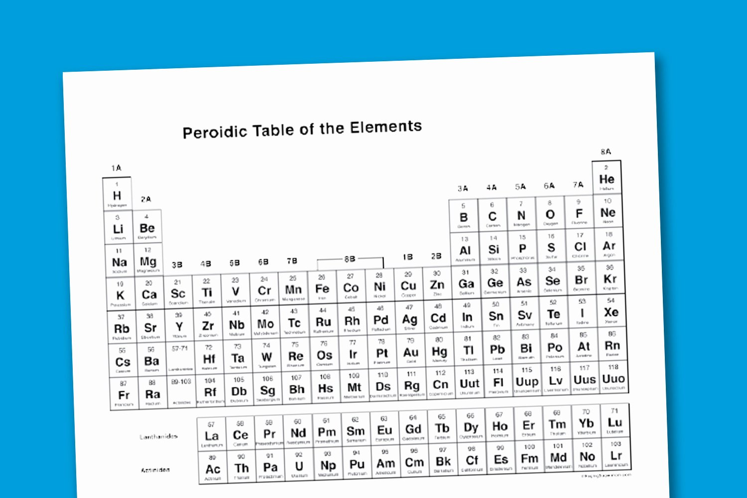Periodic Table Of Elements Worksheet Awesome Worksheet Wednesday Printable Periodic Table Paging