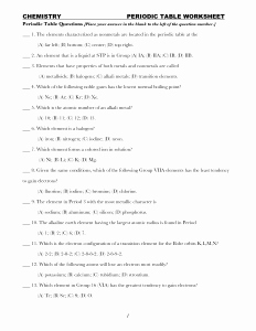 Periodic Table Puzzle Worksheet Lovely Worksheet Periodic Table Answer Key Math Worksheets Puzzle