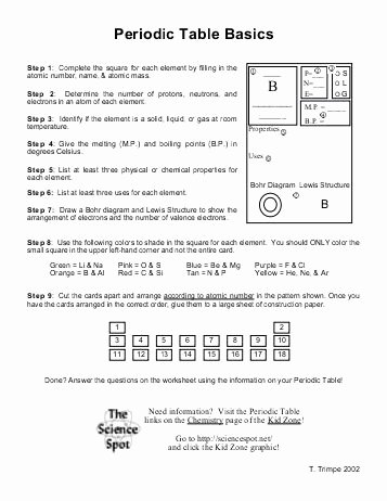 Periodic Table Worksheet Answers Awesome All Worksheets Free Periodic Table Worksheets Periodic