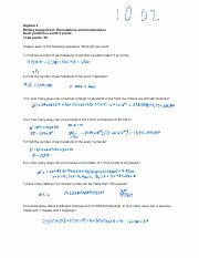 Permutations and Combinations Worksheet Answers Beautiful Permutations and Binations Worksheet with Answers