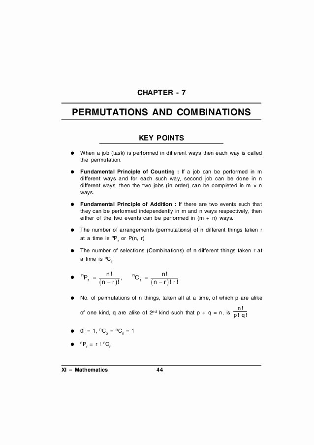 Permutations and Combinations Worksheet Answers Beautiful Worksheet B2 Permutations Answer Key Breadandhearth