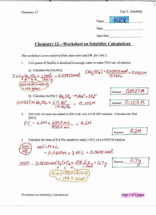 Ph and Poh Worksheet Lovely Ph and Poh Worksheet