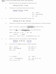 Ph and Poh Worksheet Luxury Ph and Poh Calculations Chemistry Worksheet with Answers