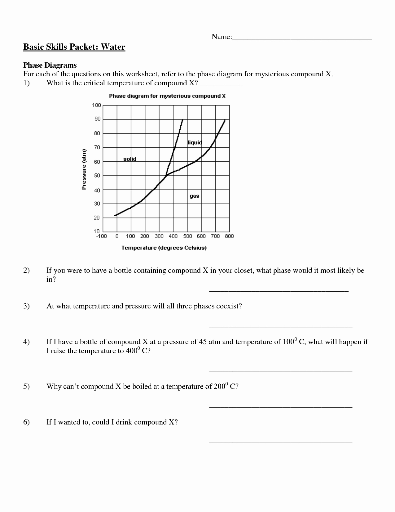 Phase Change Worksheet Answers Elegant 13 Best Of Phase Change Worksheet Middle School