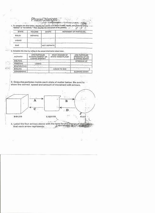 Phase Change Worksheet Answers Elegant 7 Best Of Energy Phase Change Worksheet Energy