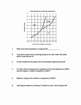 Phase Diagram Worksheet Answers Luxury Phase Diagram Worksheet by Mj