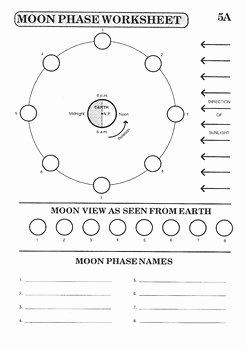 Phases Of the Moon Worksheet Inspirational Creating the Ultimate Moon Phase Worksheet by Mike Ryan S