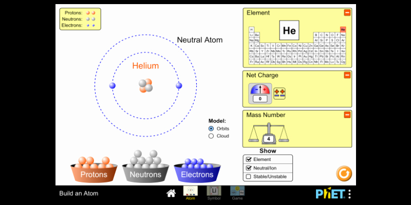 Phet Build An atom Worksheet Lovely Balancing Chemical Equations Phet Lab Tablet Patible