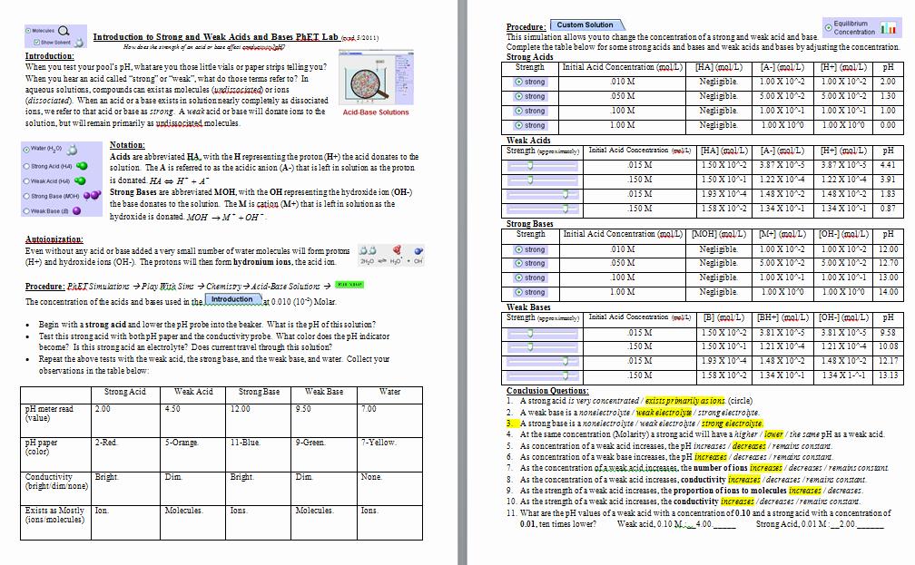 Phet Build An atom Worksheet New Visualizing Chemistry Summer 2012 July 2012