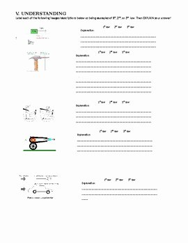 Physical Science Newton's Laws Worksheet Inspirational Newton S Laws Of Motion Worksheet and Review by Ms Science