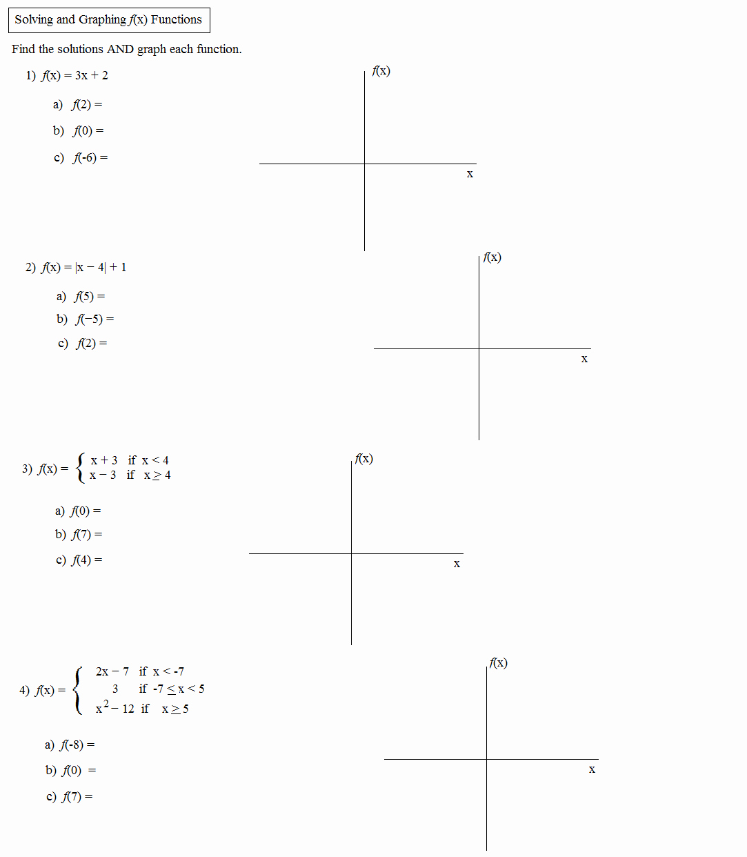 Piecewise Functions Word Problems Worksheet Awesome Math Plane Piecewise Functions & F X Notation