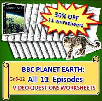 Planet Earth Freshwater Worksheet Answers Fresh 17 Best Images About My Bbc Life & Planet Earth