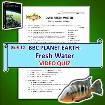 Planet Earth Freshwater Worksheet New David attenborough Planet Earth and First Page On Pinterest