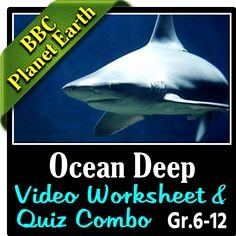 Planet Earth Ocean Deep Worksheet Beautiful My Bbc Life & Planet Earth Resources On Pinterest