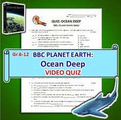 Planet Earth Ocean Deep Worksheet Beautiful Planet Earth Seasonal forests Video Worksheet