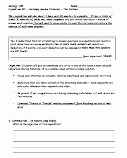 Planet Earth Ocean Deep Worksheet Best Of the Briny Deep Introduction