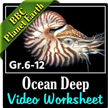Planet Earth Ocean Deep Worksheet Lovely Planet Earth Ocean Deep Video Questions Worksheet
