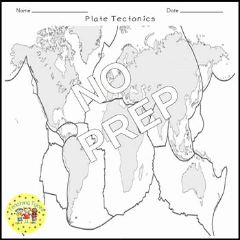 Plate Tectonics Worksheet Answers Elegant Plate Tectonics Crossword Puzzle by Teaching Tykes